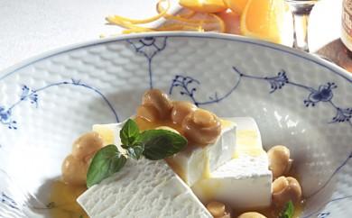 Vanilleis med svampe i Grand Marnier